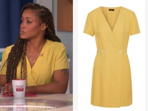 eve's yellow dress, the talk