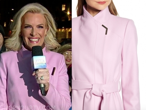 janice dean, pink coat, fox and friends
