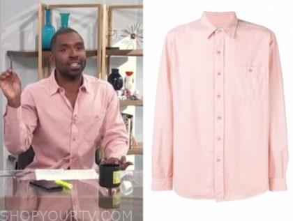 justin sylvester, pink shirt, e! news, daily pop