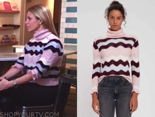 the today show, jill martin, pink turtleneck sweater