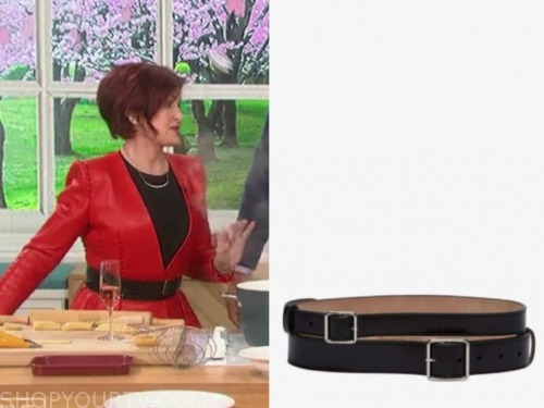 the talk, sharon osbourne, black belt