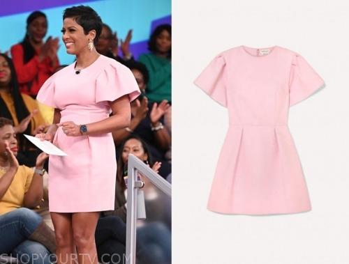 tamron hall, tamron hall show, blush pink dress