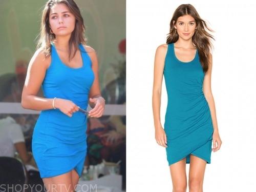 hannah ann sluss, blue dress, the bachelor