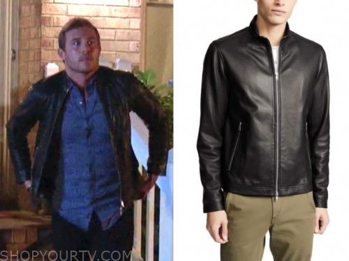 peter weber, black leather jacket, the bachelor