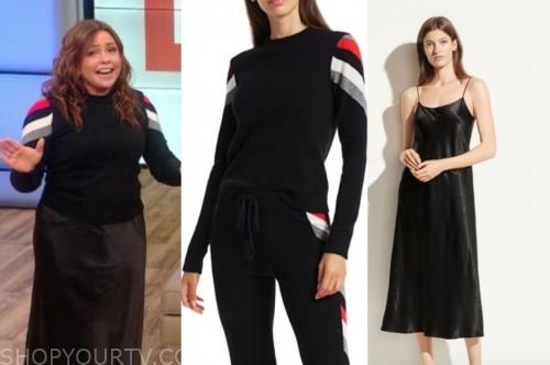 rachael ray, the rachael ray show, black sweater, black skirt