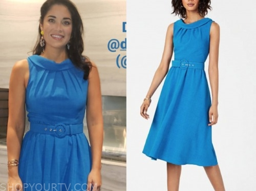 dr. viviana coles, blue dress, married at first sight