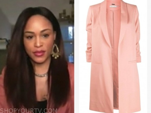 eve, the talk, pink blazer