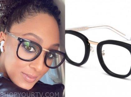 the real, tamera mowry, black glasses