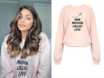 hannah ann sluss, the bachelor, pink sweater