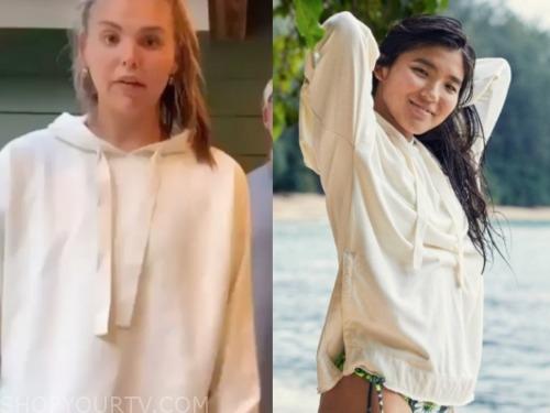 hannah brown, ivory hoodie, the bachelorette