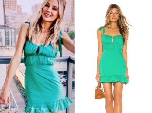 lauren Bushnell, green dress, the bachelor
