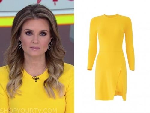 jillian mele, yellow dress, fox and friends