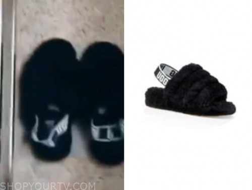 madison, the bachelor, black fur slides