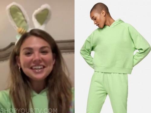 hannah brown, the bachelorette, green hoodie