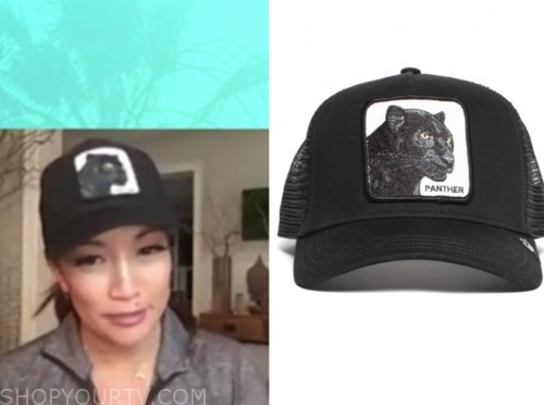 carrie ann inaba, the talk, black panther cap