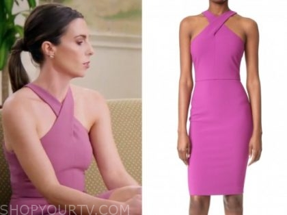 mindy, married at first sight, pink dress