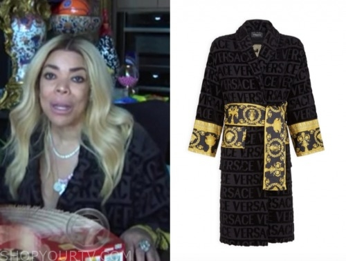 wendy williams, the wendy williams show, versace robe