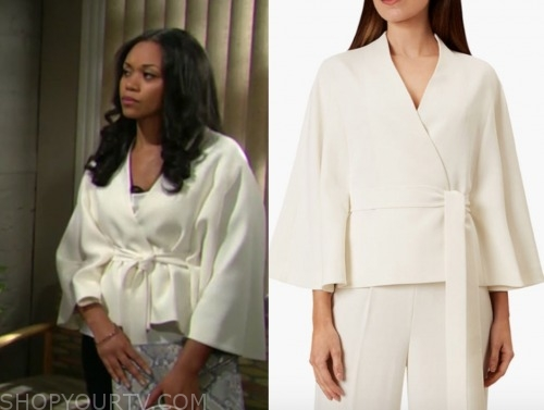amanda sinclair, mishaal morgan, the young and the restless, ivory cape