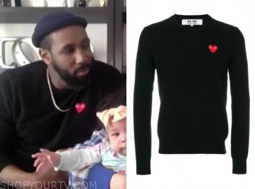 stephen tWitch boss, the real, black heart sweater