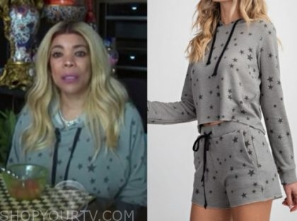 wendy williams, the wendy williams show, star hoodie sweater