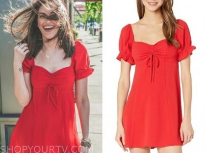tia booth, red dress, the bachelor