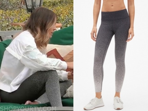 the bachelor: listen to your heart, savannah, ombre leggings
