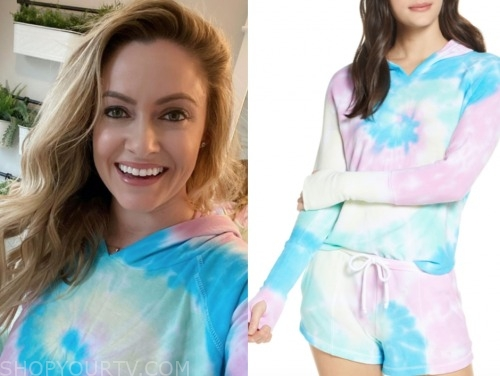 molly mesnick, the bachelor, tie dye hoodie