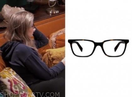 julia, the bachelor: listen to your heart, eyeglasses
