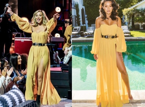 the bachelor: listen to your heart, natascha, yellow dress