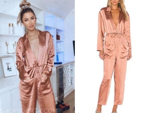 kaitlyn bristowe, pink satin jumpsuit, the bachelorette