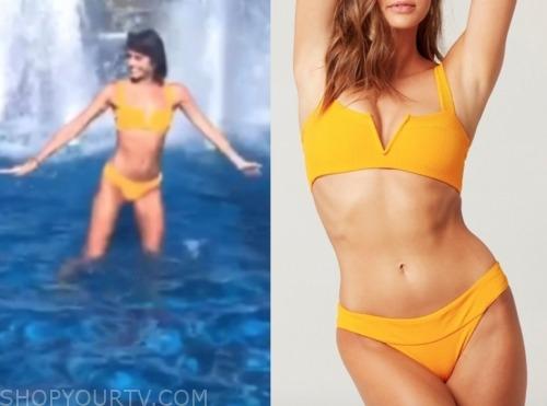 madison, the bachelor, orange bikini