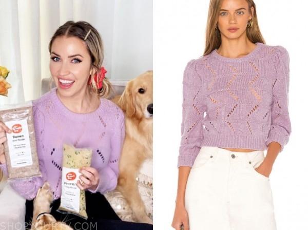 kaitlyn bristowe, purple sweater, the bachelorette