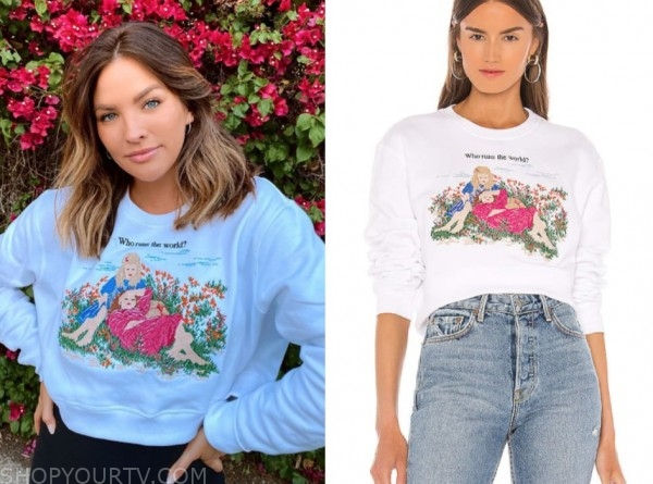 becca tilley, the bachelor, angel baby sweatshirt
