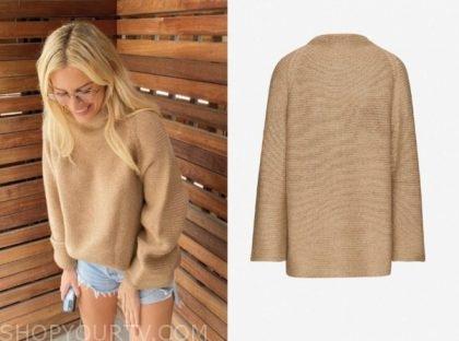 E! news, morgan stewart, daily pop, camel sweater