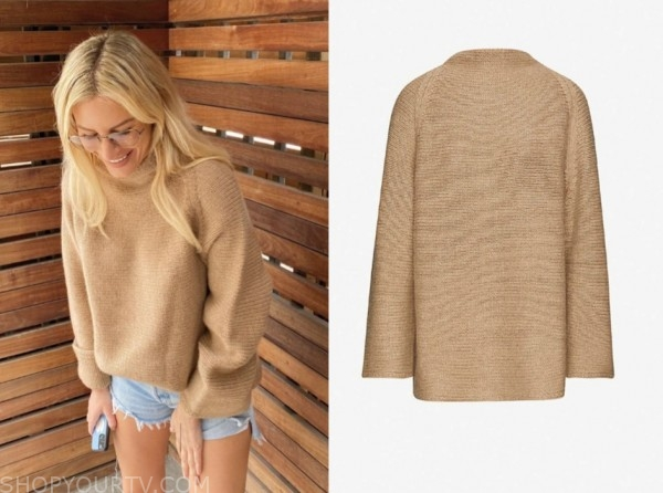 E! news, morgan stewart, daily pop, camel sweater