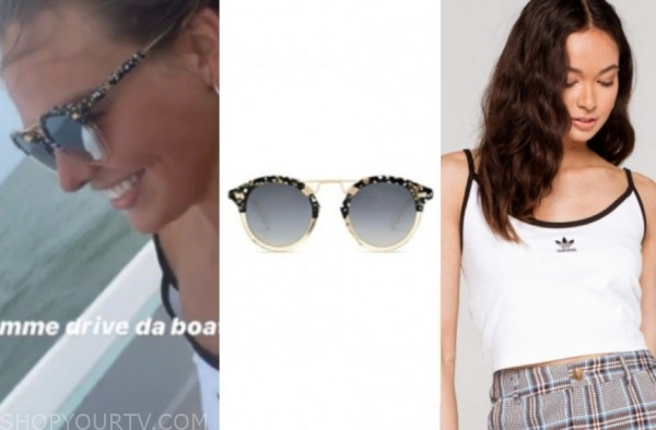 hannah brown, the bachelorette, sunglasses, camisole
