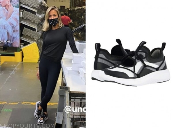 kristin cavallari, very cavallari, black and white sneakers