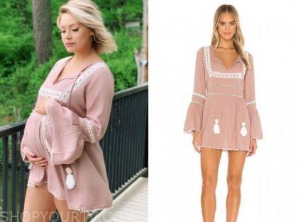 jenna cooper, the bachelor, pink tunic dress