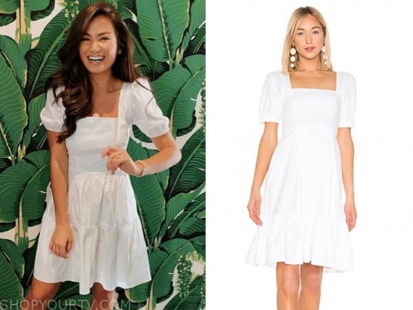 caila quinn, white dress, the bachelor