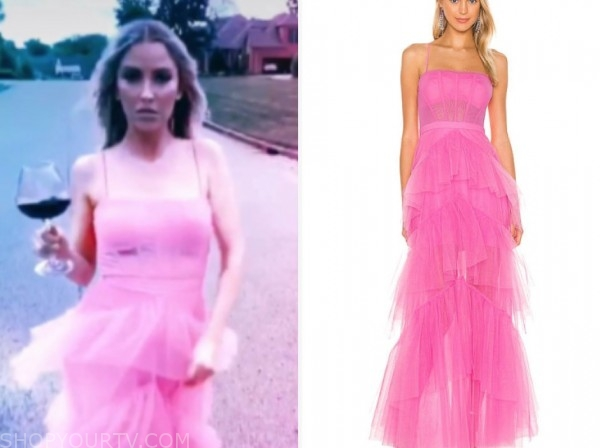 kaitlyn bristowe, the bachelorette, pink tulle gown