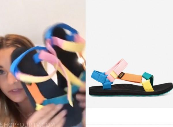 savannah, listen to your heart, multicolor sandals
