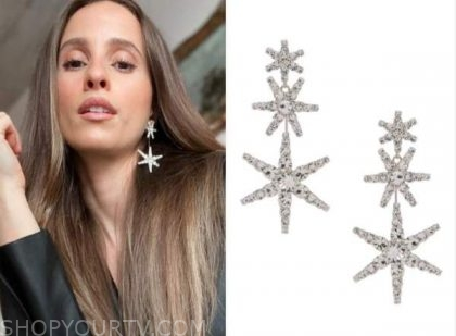 vanessa grimaldi, the bachelor, star earrings
