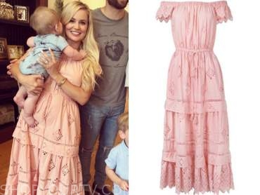 emily maynard, the bachelorette, pink eyelet dress