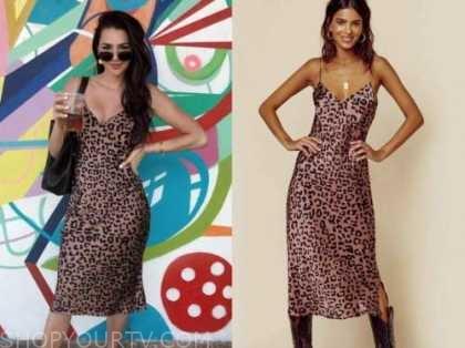 jennifer saviano, the bachelor, leopard slip dress