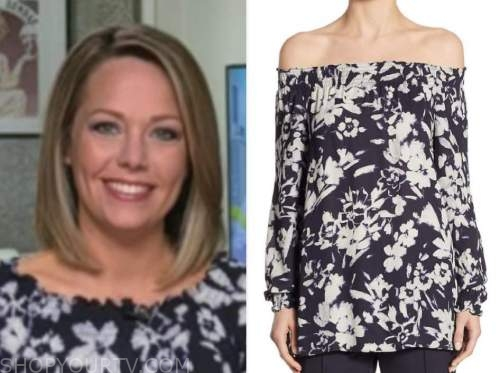 dylan dreyer, the today show, floral top