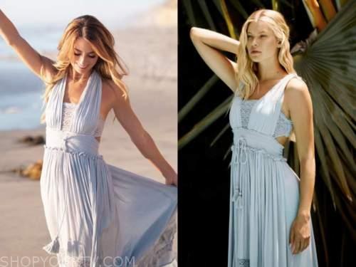 tenley molzahn, the bachelor, blue lace maxi dress