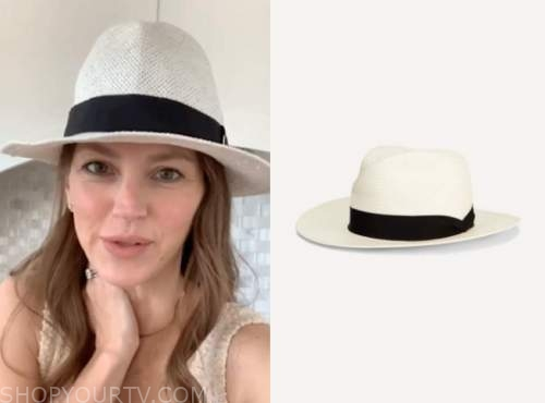 ashlee frazier, the bachelor, white straw hat
