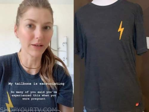 ashlee frasier, the bachelor, lighting bolt tee