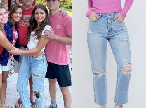 hannah ann sluss, the bachelor, ripped jeans