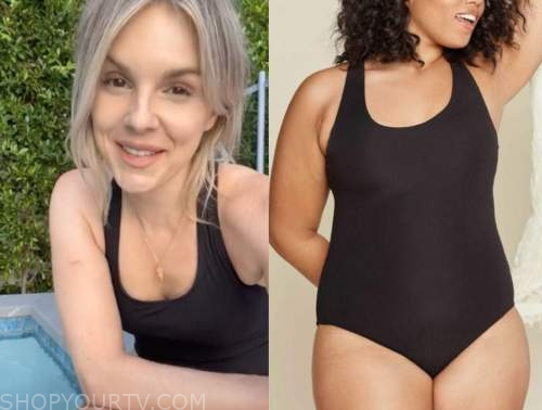 ali fedotowsky, the bachelorette, black swimsuit